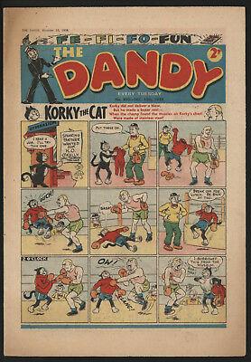 Dandy Comic #890, Dec 13Th 1958, Really Nice Condition.