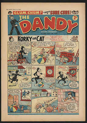 Dandy Comic #903, Mar 14Th 1959, Really Nice Condition.