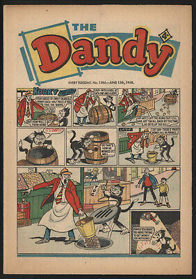 Dandy Comic #1386, June 15Th 1968, Really Nice Condition.