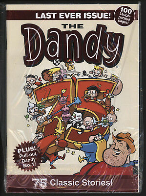 Dandy Comic, Last Ever Issue, Dec 4Th 2012. Perfect Unread.