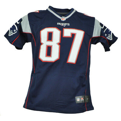 NFL Nike New England Patriots Youth Jersey 87 Rob Gronkowski Tshirt Navy Blue