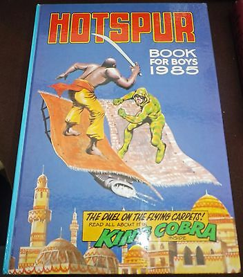 The Hotspur Book For Boys (Annual) 1985 VGC Unclipped