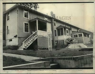 1973 Press Photo Witherbee NY home of Mrs Charles Mandy, sister of Robert Garrow