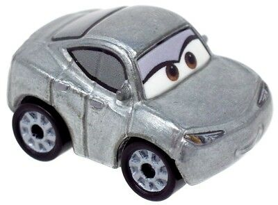 Disney Cars Die Cast Mini Racers Natalie Certain Car [Silver Version Loose]