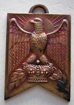 Vintage Japanese Medal with Eagle and Crown from the 1930's