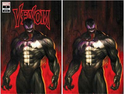 Venom #7 Mike Choi Trade Dress/virgin Variant Set Limited To 500 Sets With Coa