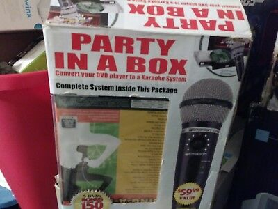 Karaoke System Party In A Box