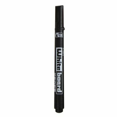 Marker felt marker pen black Easy erasable Whiteboard Office School 10/50X YO