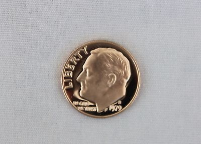 1979-S Roosevelt Clad Proof Dime Cameo