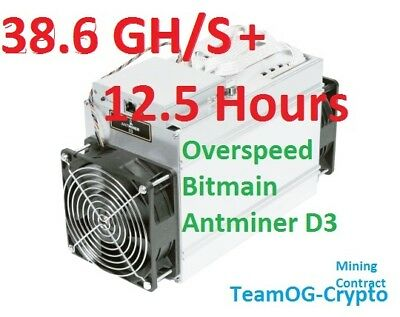 **SALE** 12.5 Hours X11 Antminer 38.6 GH/s+!! UK Mining Contract Dash Futurocoin