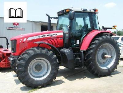 Massey Ferguson 7400 series all models Parts Manual Printed and Digital