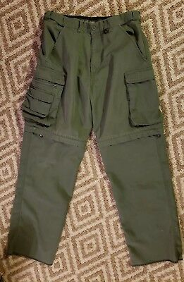 Official BSA Boy Scouts of America Switchback Relaxed Fit Pants size 31 x 31