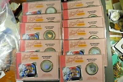 Disney Magical Parade Limited Edition Adventures In Flight Medallion Collection