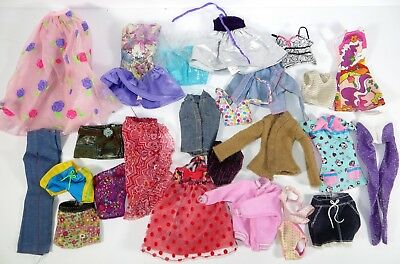 #9 Barbie Doll Accessory Clothing Fashion Lot Of 25 Pieces!