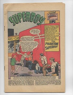 Adventure Comics 283 - Coverless - 1St Appearance Of The Phantom Zone (1961)
