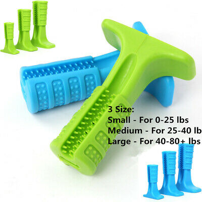 Dog Puppy Toothbrush Pet Brushing Stick Teeth Cleaning Chew Toy Oralcare Bristly