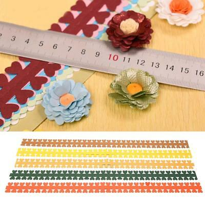 5Pcs DIY Paper Quilling Strips Flower Gift Paper for Craft Handmade Paper Decor
