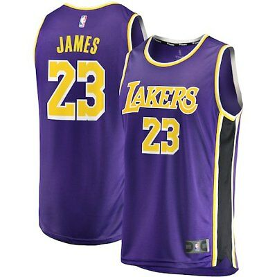 LeBron James Los Angeles Lakers Fanatics Branded Youth 2018/19 Fast Break