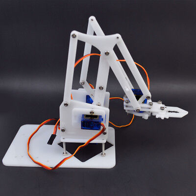4DOF Mechanical Robot Arm Claw with Servos for Robotics Arduino DIY Kit
