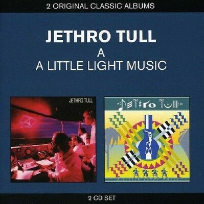 Jethro Tull A/A Little Light Music (Live) 2-CD NEW SEALED Digitally Remastered