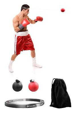 Boxing Reflex Ball, 2 Difficulty Level Boxing Ball with Headband, Softer Than