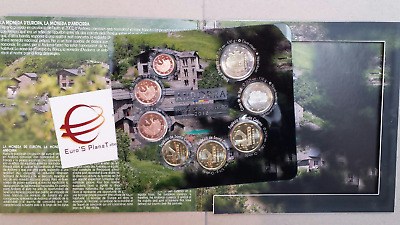 2018 ANDORRA 8 monete 3,88 EURO fdc BU KMS andorre divisionale ufficiale андорра