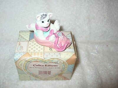 Calico Kittens, We're Partners in The Dance of Life 1997 B/N/I/B RARE