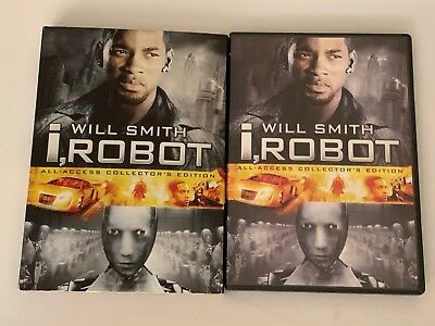 I, Robot (DVD, 2005, 2-Disc Set, Collectors Edition) Will Smith Slipcover