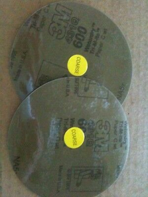 2 X Original Authentic JFJ Easy Pro 3M 600 GRIT COARSE SANDPAPER for CD Repair