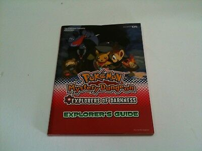 NEW Pokemon Mystery Dungeon Explorers of Darkness Explorer's Guide Book - N35