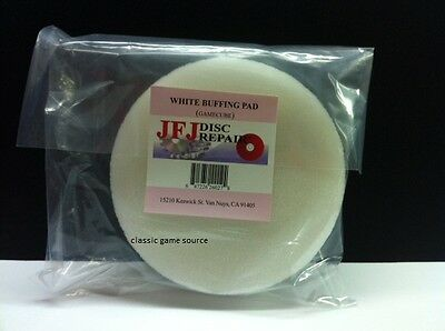 Official Original JFJ Double Arm White Buffing Pad for Gamecube