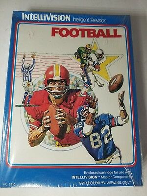 New Sealed With Creased Box Football Game For Intellivision B13