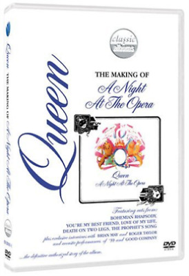 Queen, NEW! DVD Making of A Night at the Opera,Bohemian Rhapsody Freedie Mercury