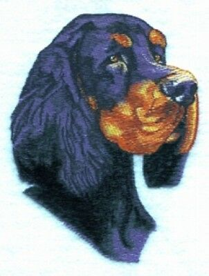 Large Embroidered Zippered Tote - Gordon Setter BT2623
