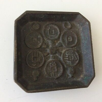 91 Gr . Small CHINESE Tray SEAL ? STAMP?  with Writing Age unknown