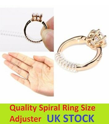 Ring Size Adjuster Reducer Sizer Snuggies 10cm Long One Size Fits All Sprial UK