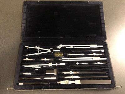 RARE Vintage Proebster Technica TC10 Precision Drafting Technical Drawing Set