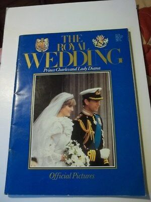 The Royal Wedding Prince Charles & Lady Diana Official Pictures & Story Book