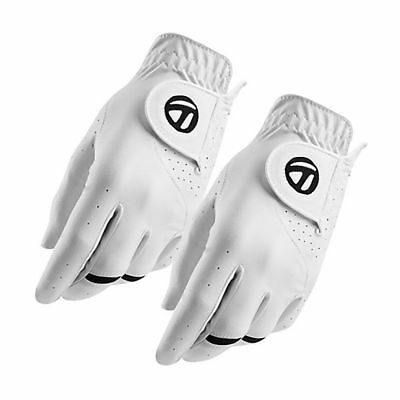NEW 2-Pack TaylorMade All Weather Gloves - RH Golfer - Cadet - Medium/Large