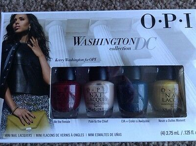 Opi Minis Washington DC nail polish / Varnish Boxed Gift set