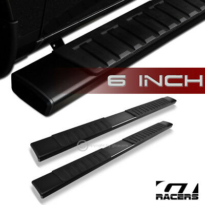 """6"""" Oe Aluminum Blk Side Step Running Boards For 2007-2018 Tundra Double/Crew Cab"""