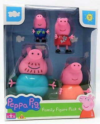 Character Options 06666 Peppa Wutz Familie Figur Pack mit George Daddy Mama Pig