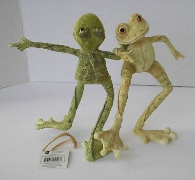 Skippy & Lou Dancing Frogs Figurine - A Breed Apart Ca 04546 - New In Box