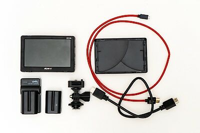 Andoer Viltrox 5 Inch LCD Monitor with two batteries and charger