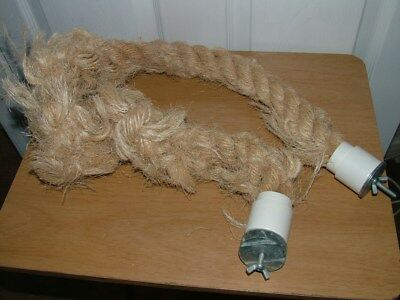 Sisal Rope Parrot Perch Large comb p&p