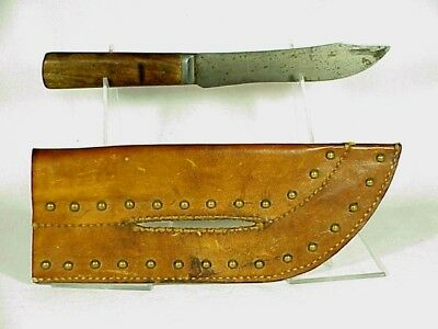 INDIAN TACKED KNIFE Sheath With Knife