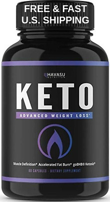 BHB SALT KETO Diet Extreme Fat Burner Carb Block Energy Non-GMO LOSE WEIGHT FAST