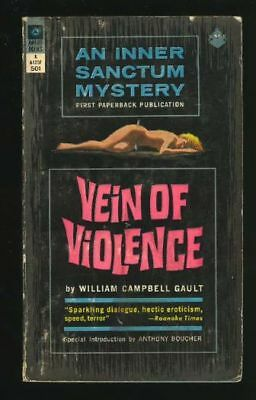 Paperback. William Campbell Gault: Vein of Violence: Award A125F 160589