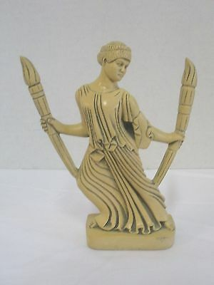 Hecate Statue with Torches - The Light Bearer