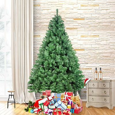 4.5 Foot Premium Spruce Hinged Artificial Christmas Tree with Sturdy Stand